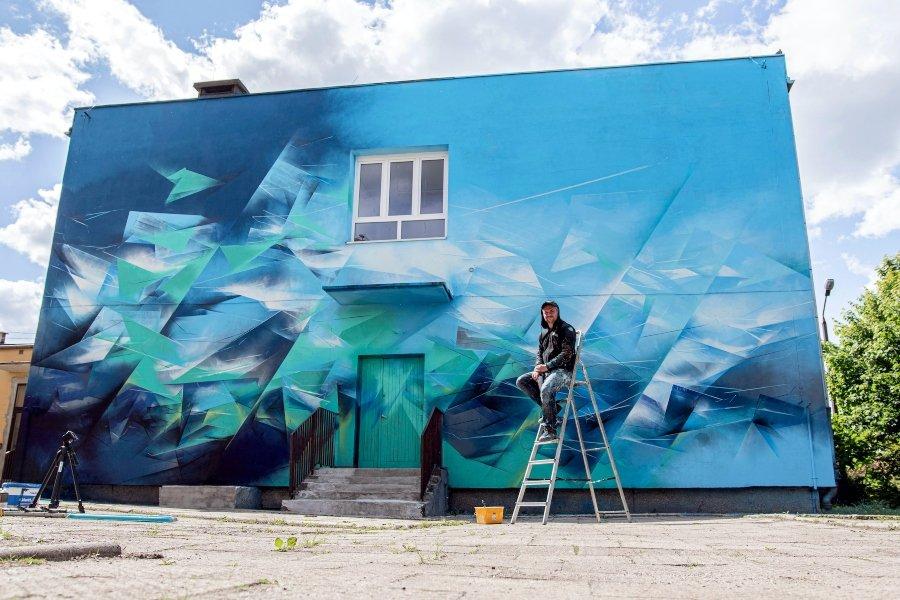 "Mural ""Mirror Land"""