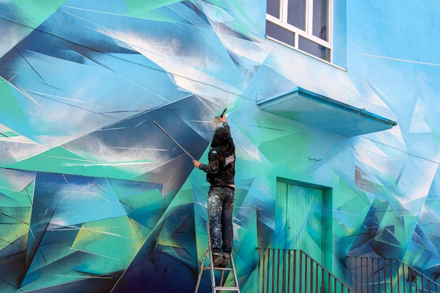 "Mural de Paner ""Mirror Land"""