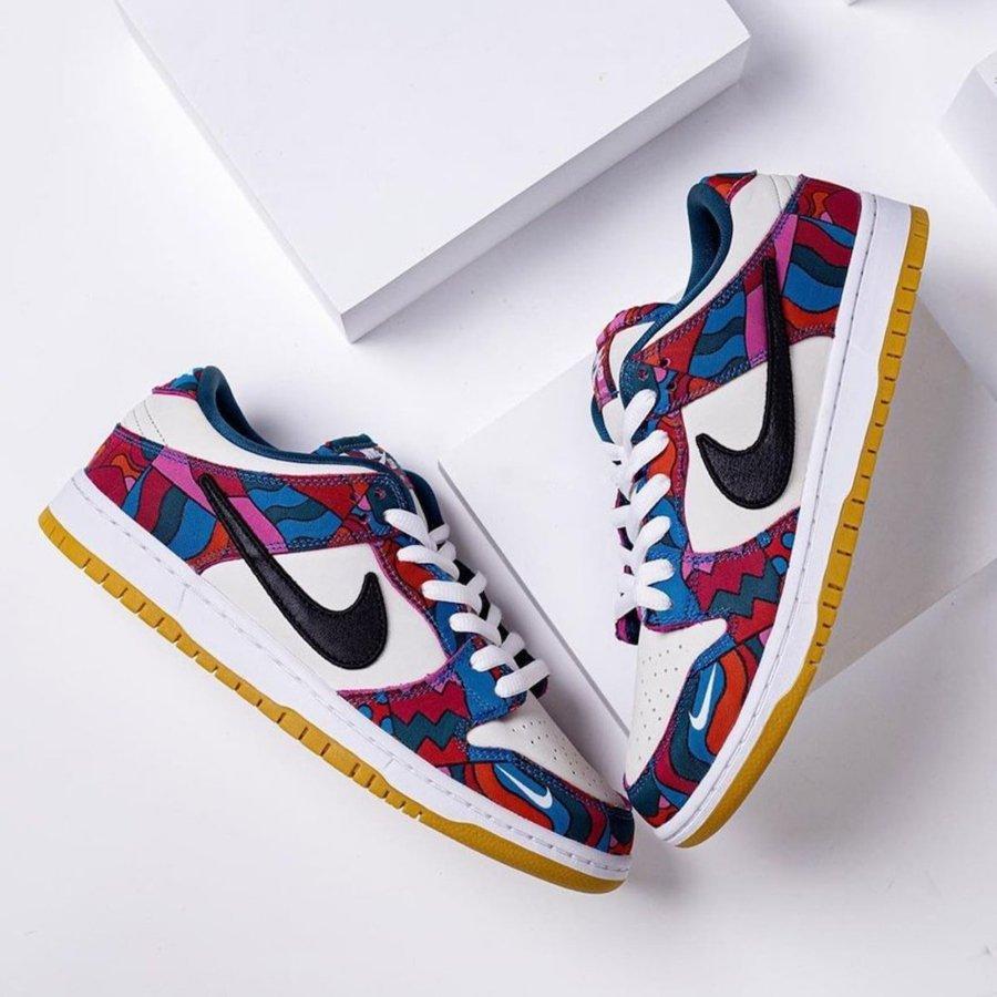 Posible colaboración del 2021 de Parra y Nike SB