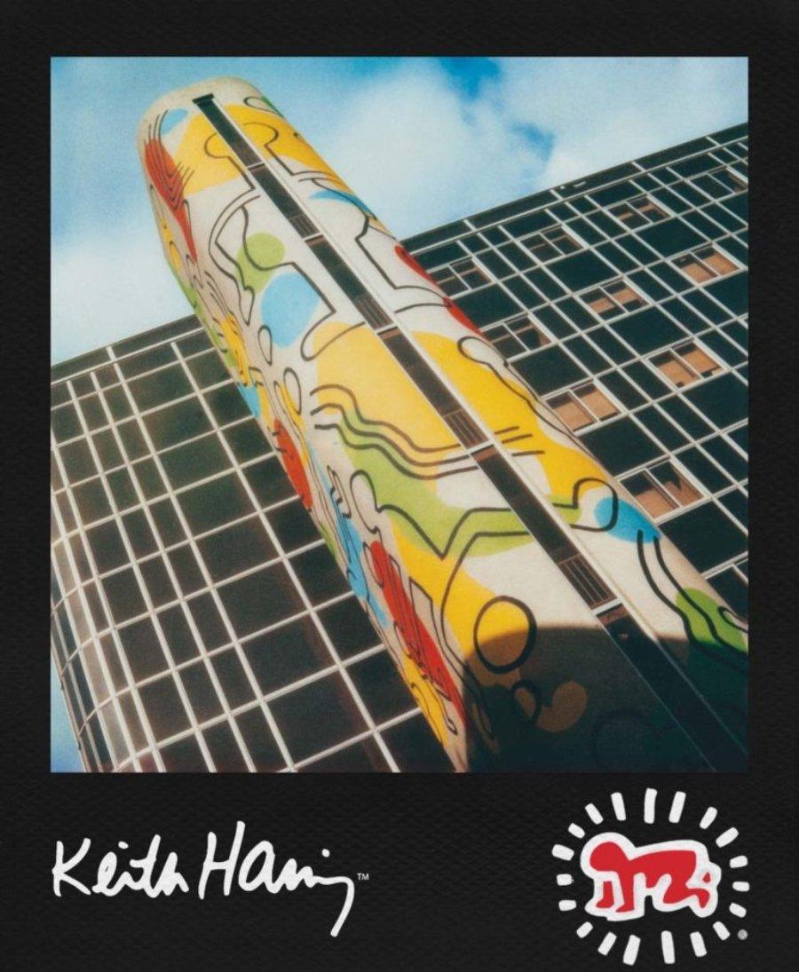 Fotografía por Keith Haring