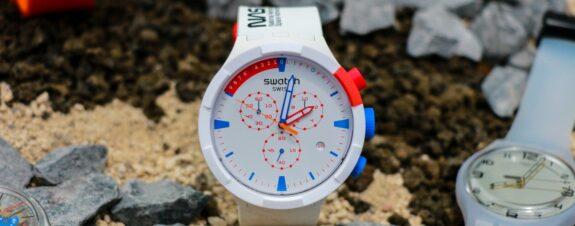 Swatch llega con su tecnología bioceramic y relojes de la Nasa