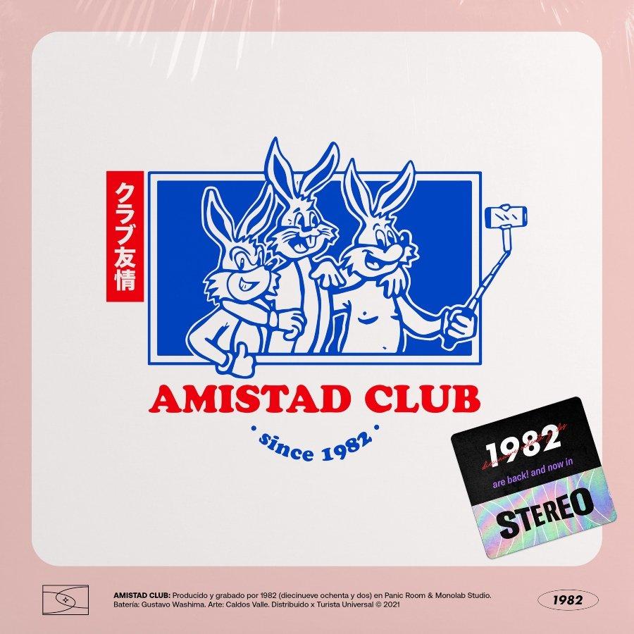 Portada de Amistad Club de1982