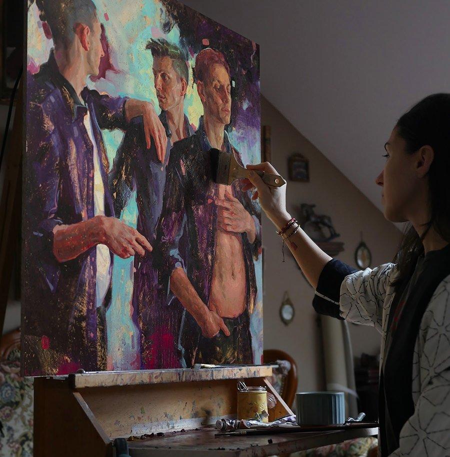 Pinturas de Tania Rivilis