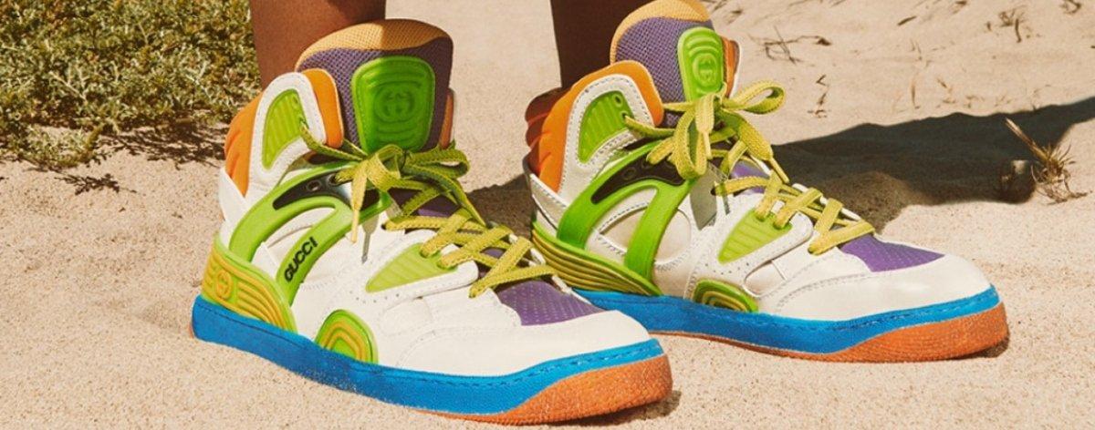 Zapatillas veganas de Gucci, una nueva forma de cuidar el medioambiente