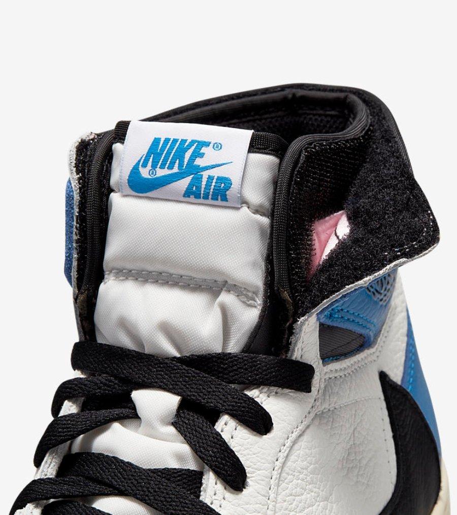 Air Jordan 1 en Military blue
