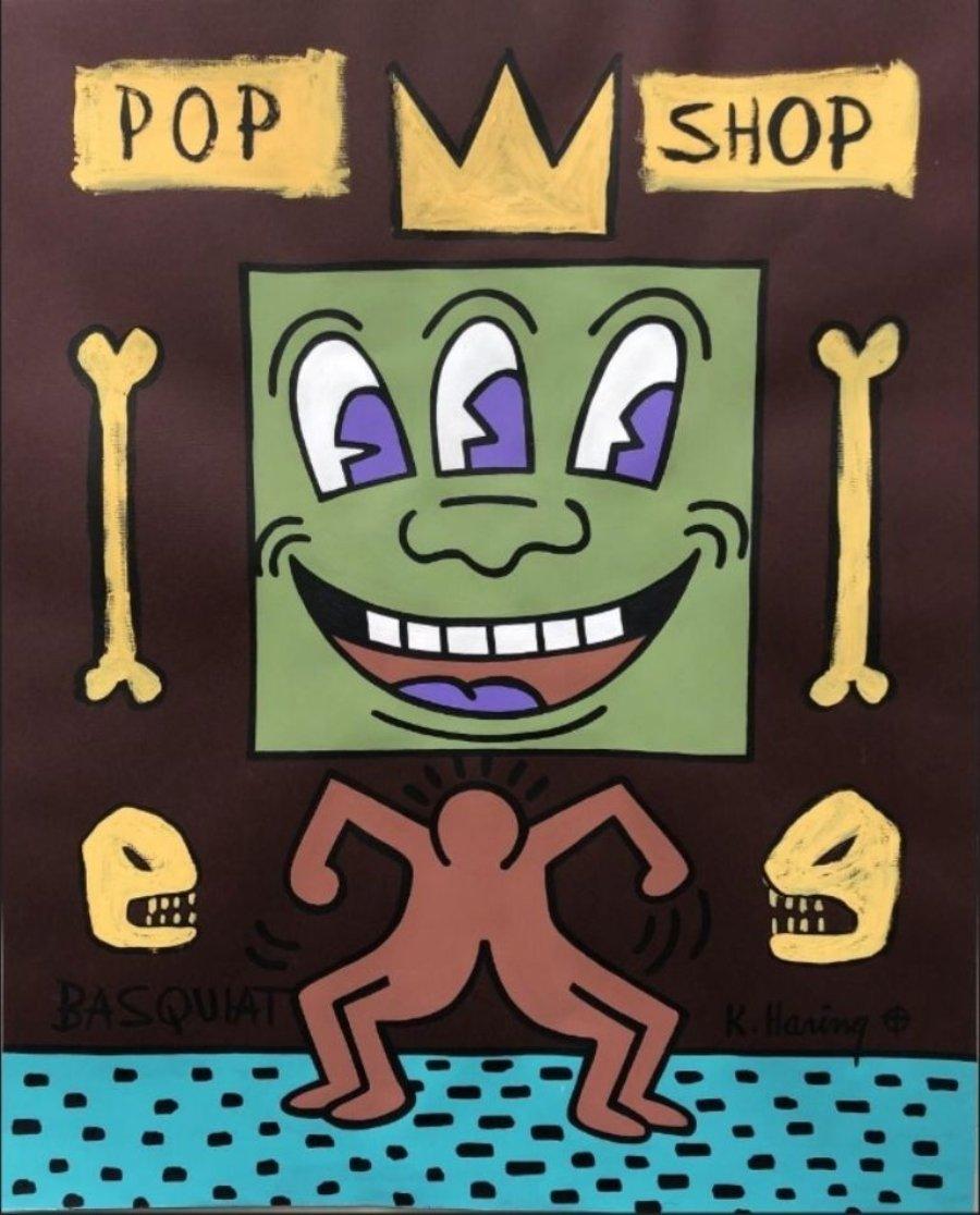 Excandidato intenta vender obras piratas de Haring