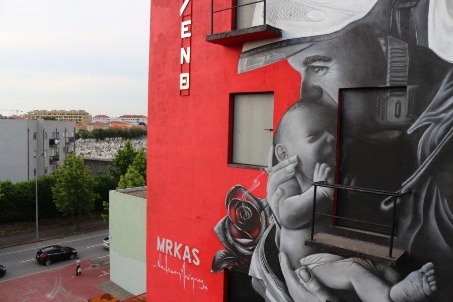 Humanity First, nuevo Mural de MRKas