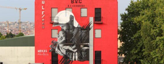Humanity First, el mural de MrKas en homenaje a los bomberos