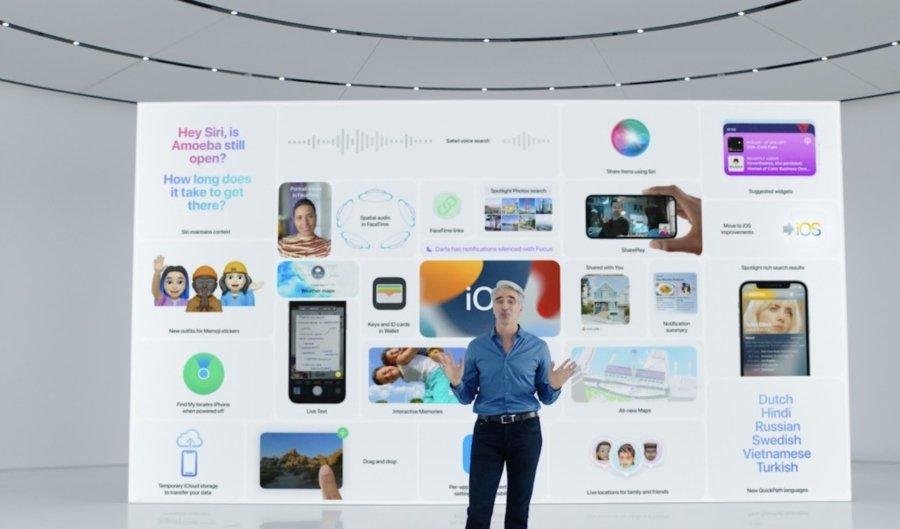 Apple presenta el sistema operativo iOS 15
