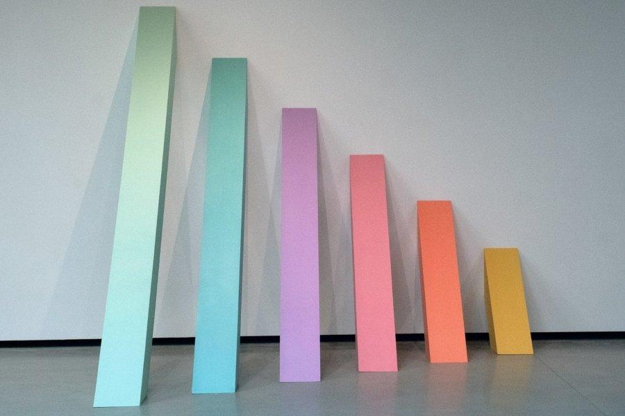 """""""Rainbow Pickett"""" de Judy Chicago"""