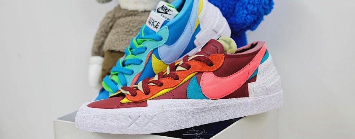 KAWS x sacai x Nike Blazer Low, las últimas noticias sobre el par