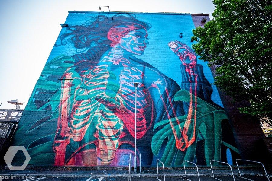 Mural de Insane51