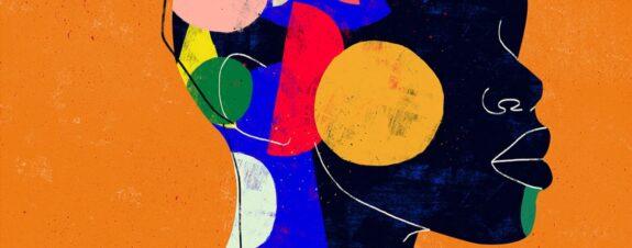 Luciano Cian y sus retratos en colores y líneas minimalistas