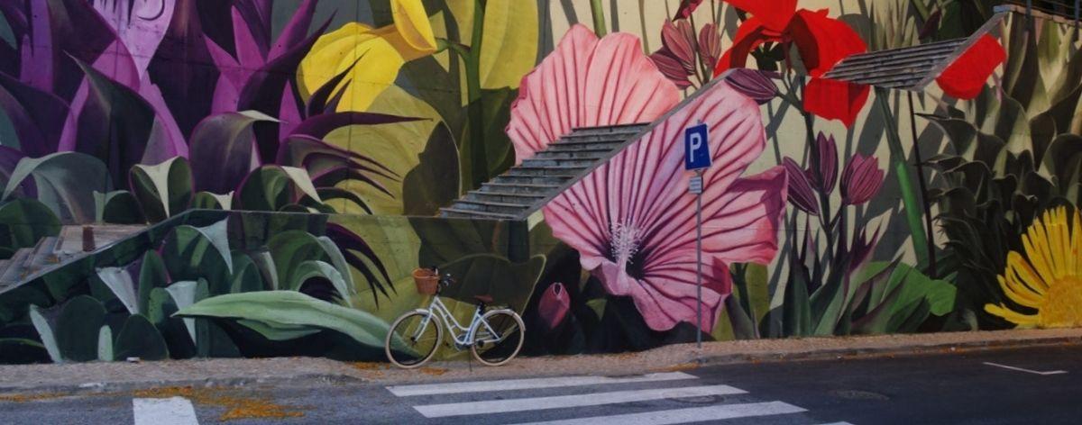 Thiago Mazza presentó un nuevo mural  en Lisboa, Portugal