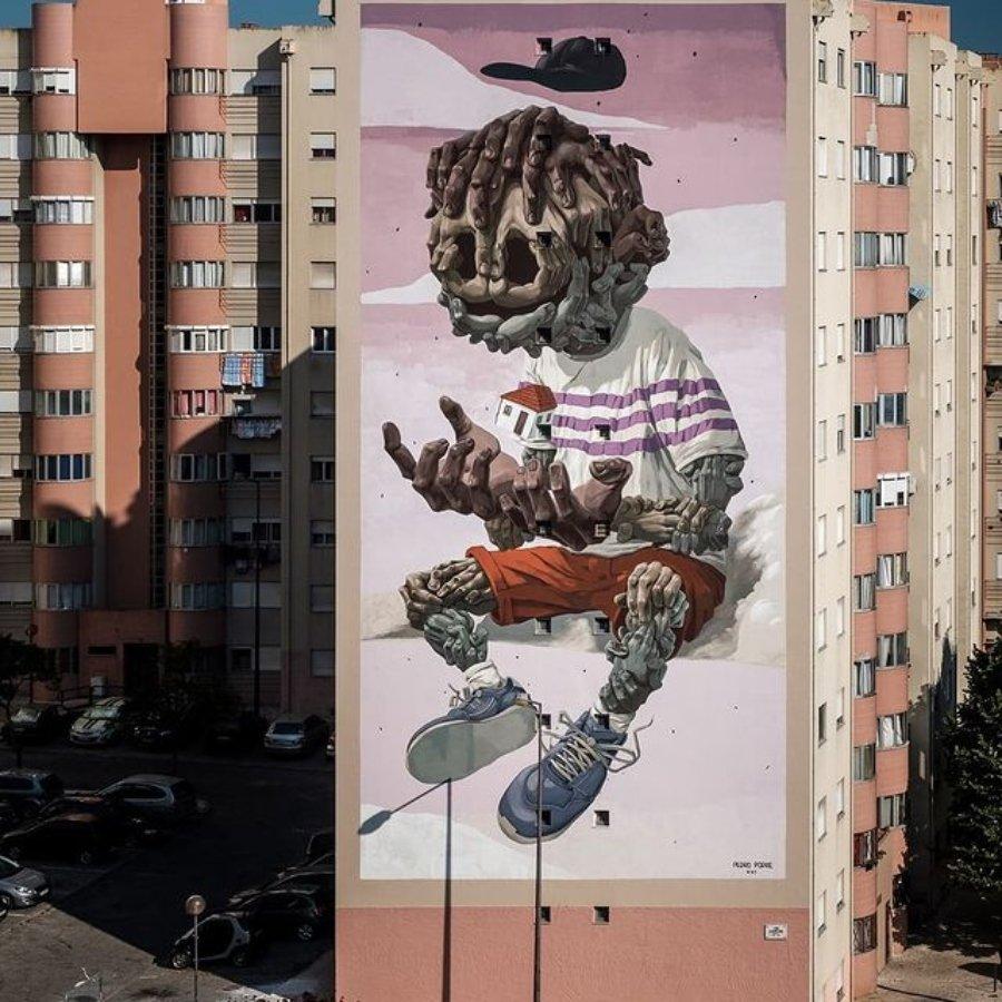 Los murales del mes de julio