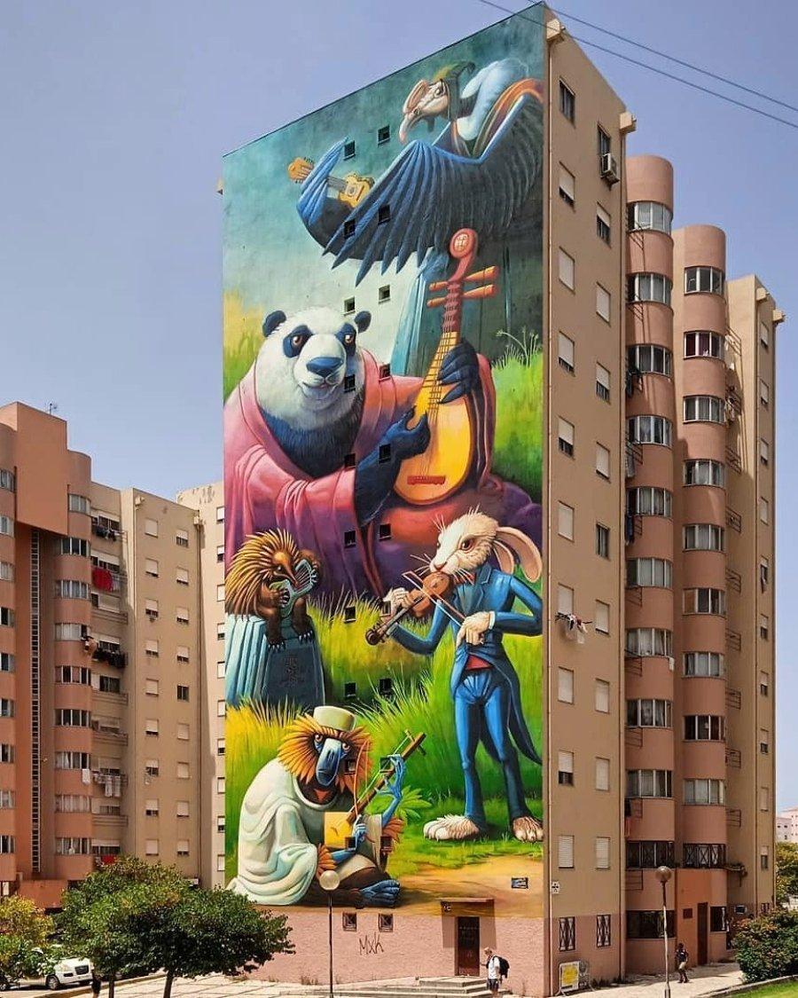 Mural de Juanjo Surace