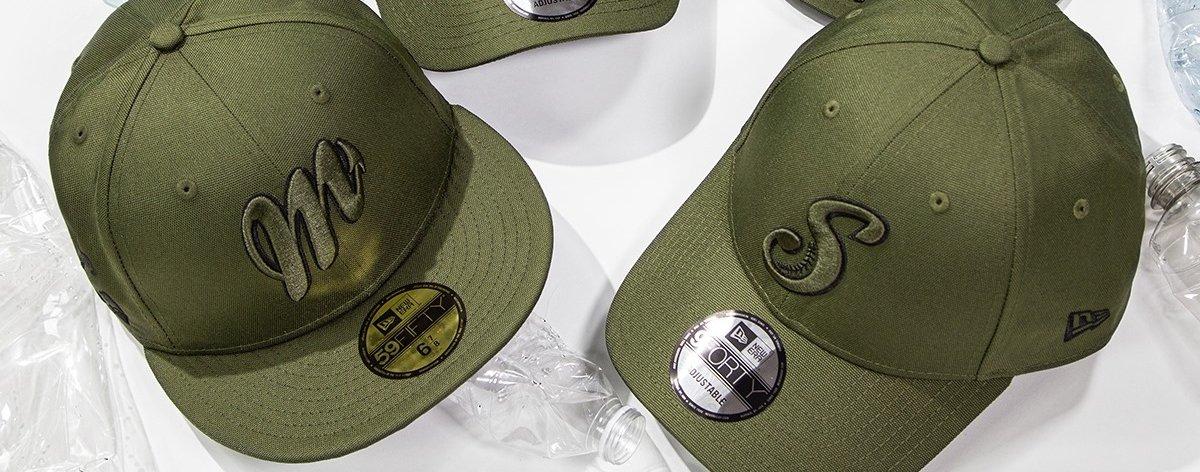New Era y la LMB lanzan una colección de gorras ecológicas
