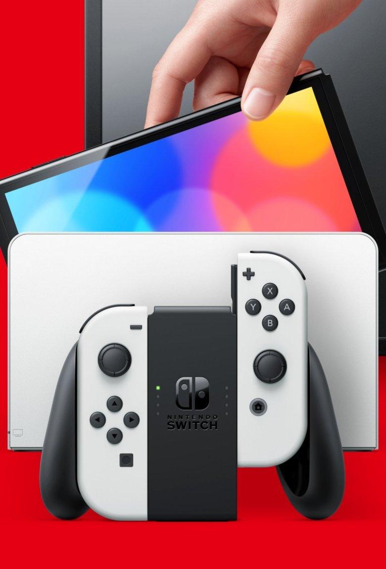 Nintendo Switch Oled, la nueva consola híbrida de la familia Switch