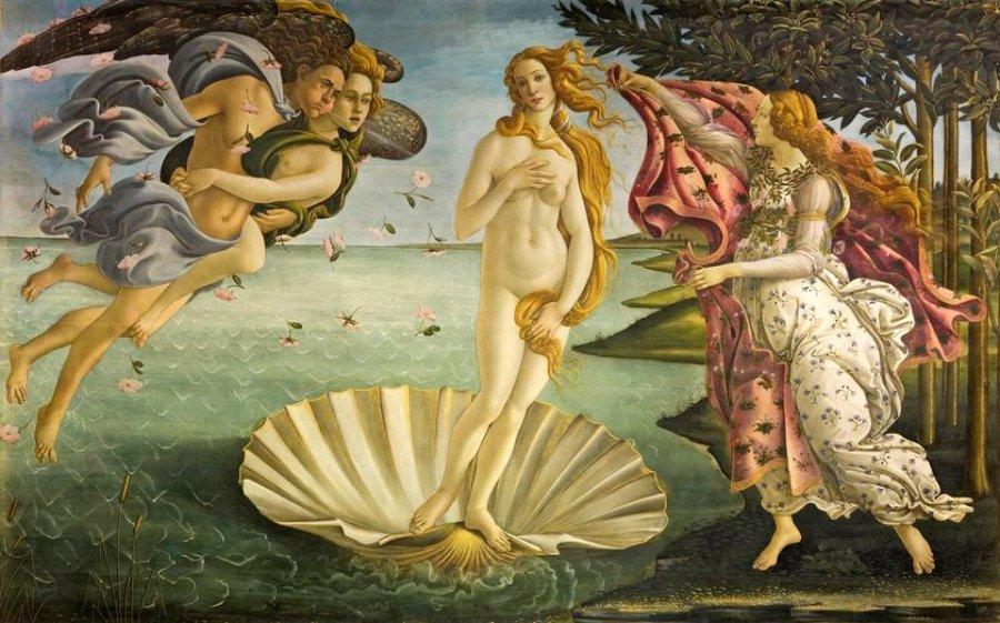 """Escena de la campaña """"Classic Nudes"""""""