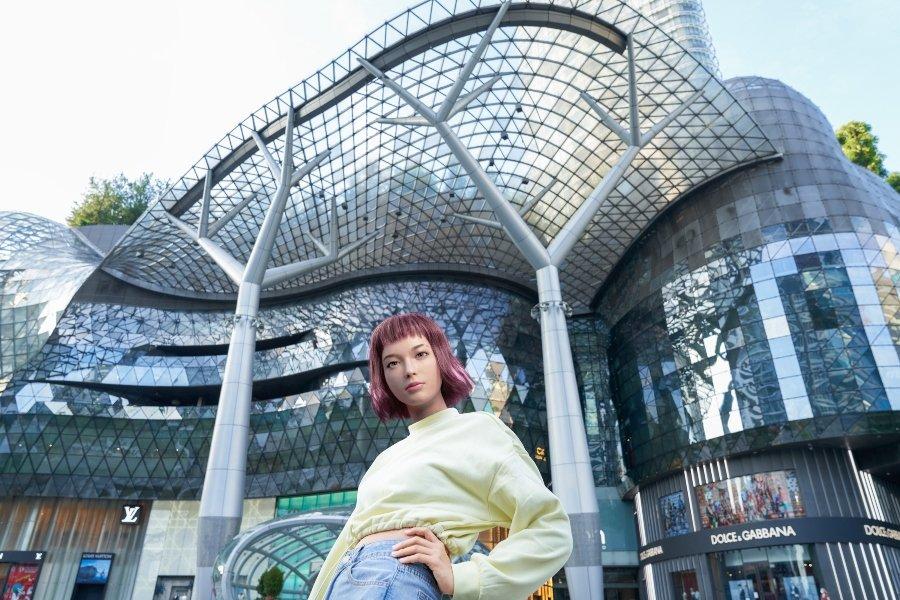 Influencer virtual de Singapur