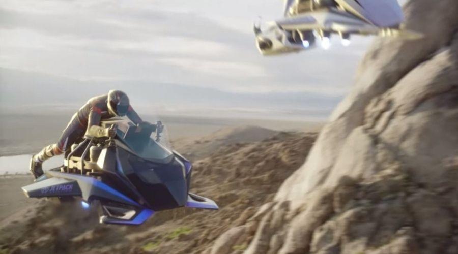 Speeder, l primer moto voladora