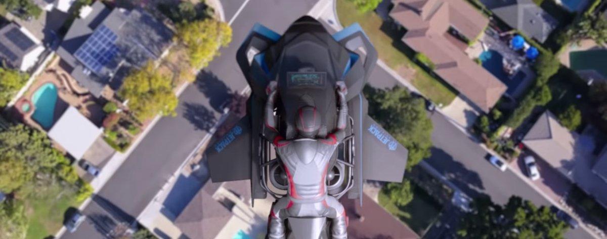 Speeder, la primera motocicleta voladora, podría ser una realidad
