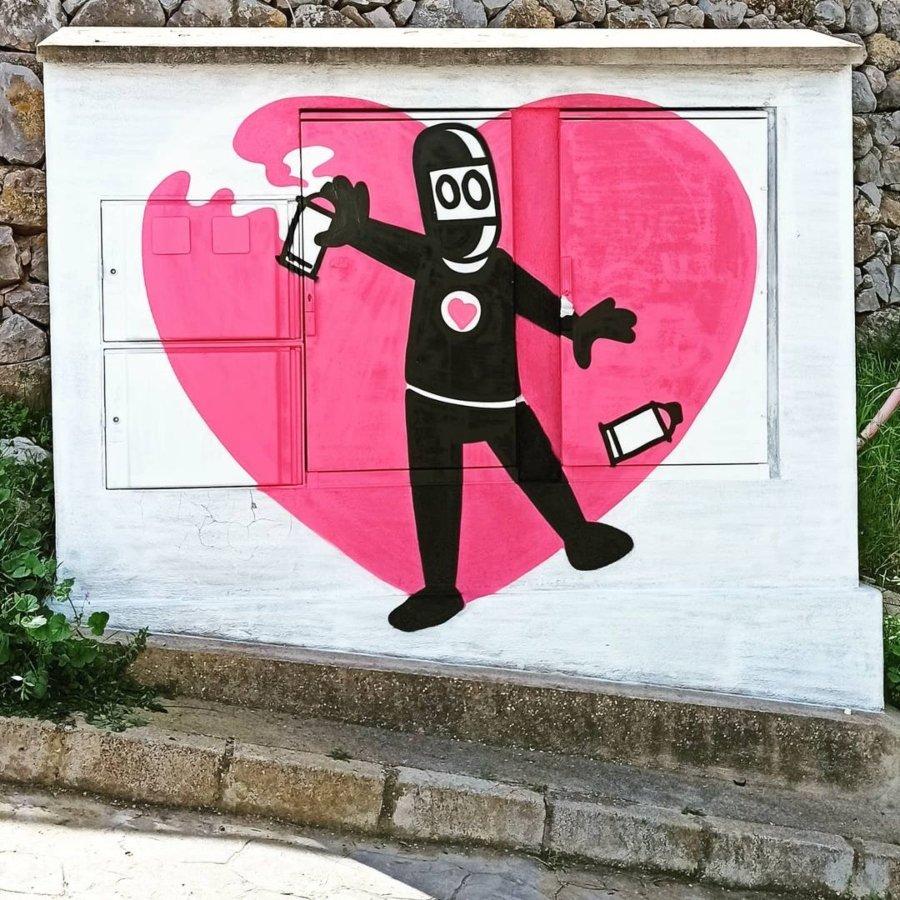 Street art de David de Limón