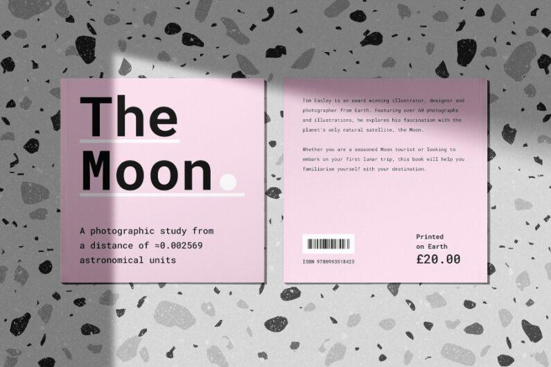 """Contenido del libro """"The Moon"""""""
