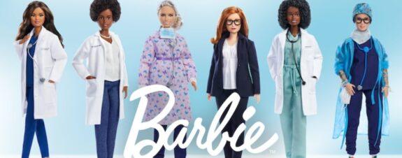 Barbies científicas y doctoras: las nuevas heroínas de la pandemia
