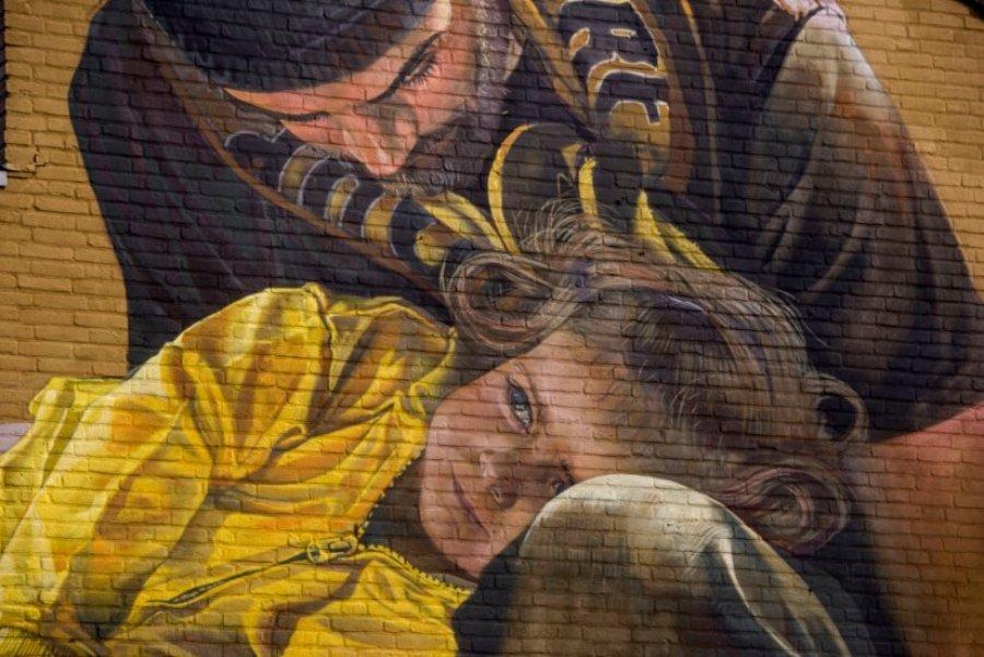 Mural colaborativo con Blind Walls Gallery