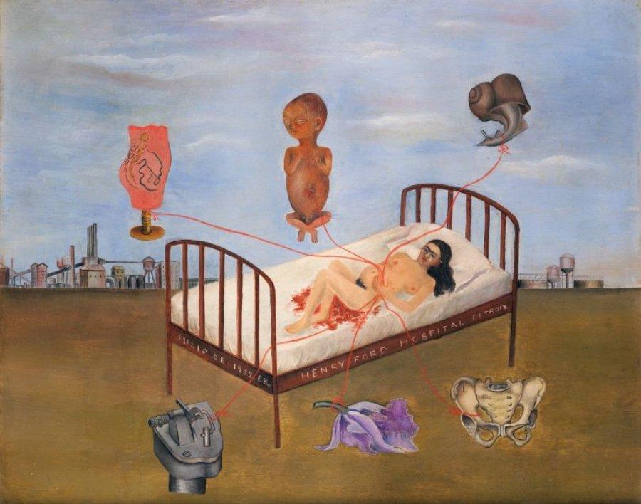 Pintura de la artista mexicana