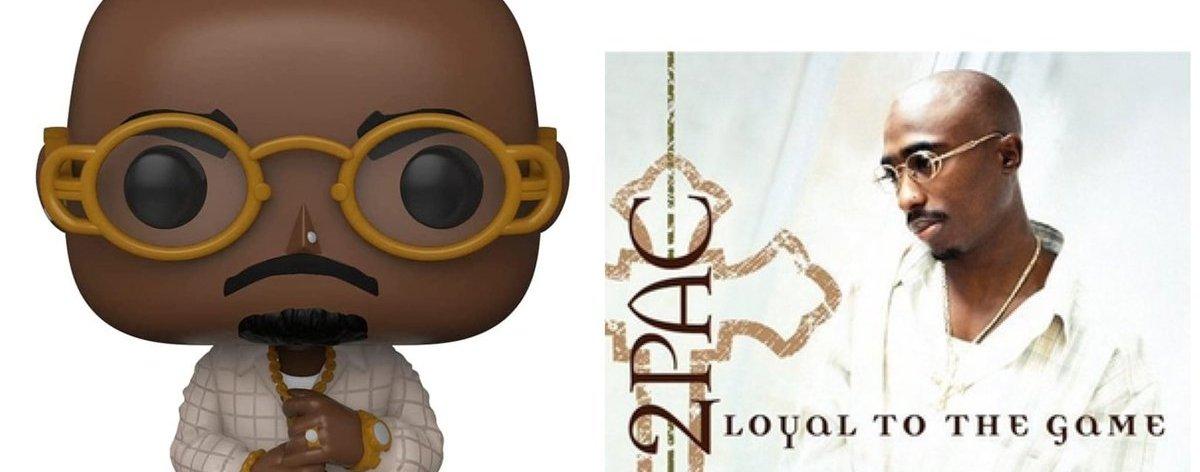 Funko rinde homenaje al álbum de Tupac 'Loyal to the Game'
