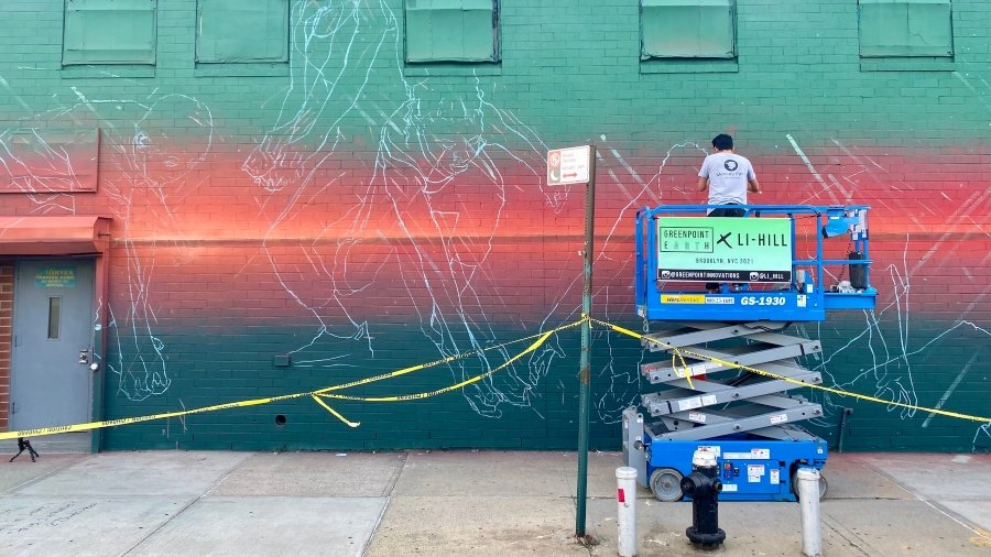 """Mural """"New Futures"""""""