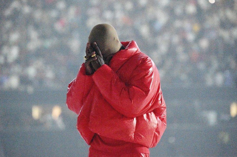 Kanye West en concierto