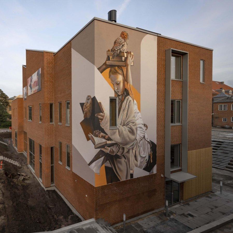 Los murales del mes de agosto por Telmo Miel