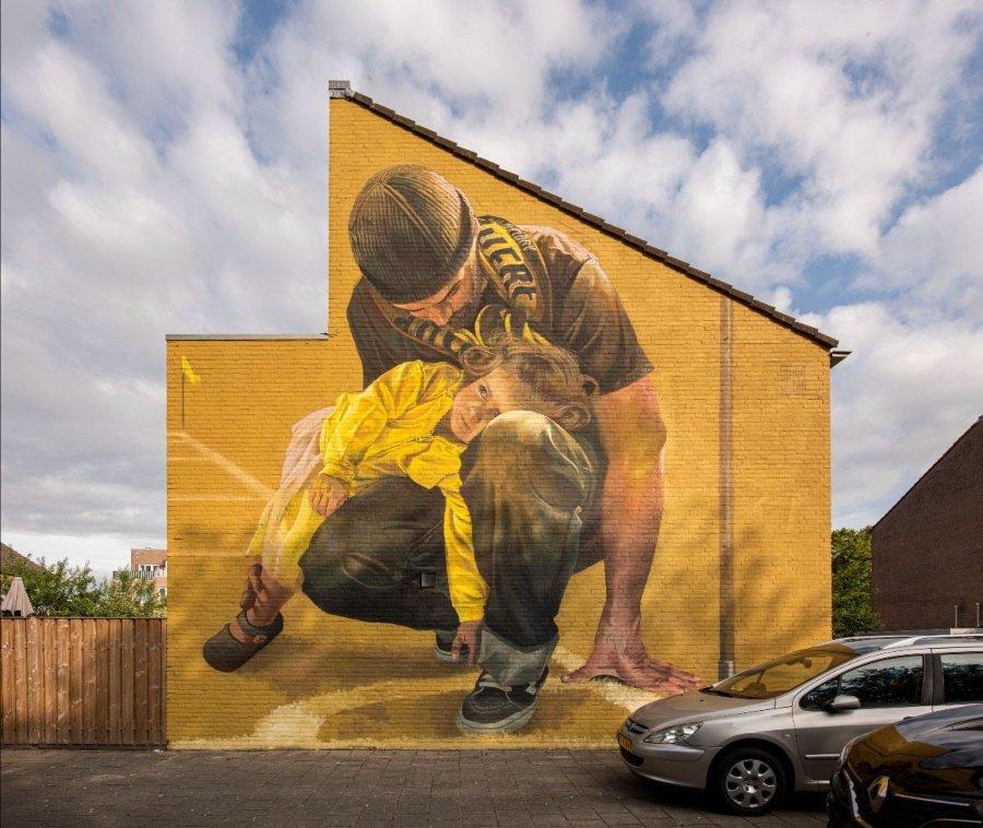 Los murales del mes de agosto por Clase Maclaim