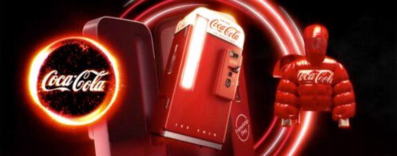 Coca-Cola celebra la amistad con una colección de arte NFT