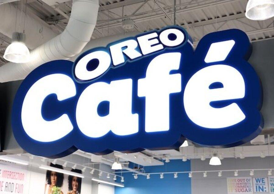 Aspecto del primer Oreo Café del mundo
