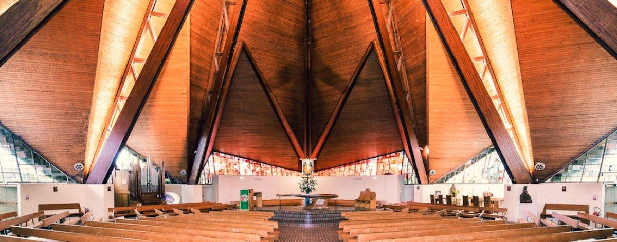 Sacred Spaces, la serie sobre arquitectura de Thibaud Poirier