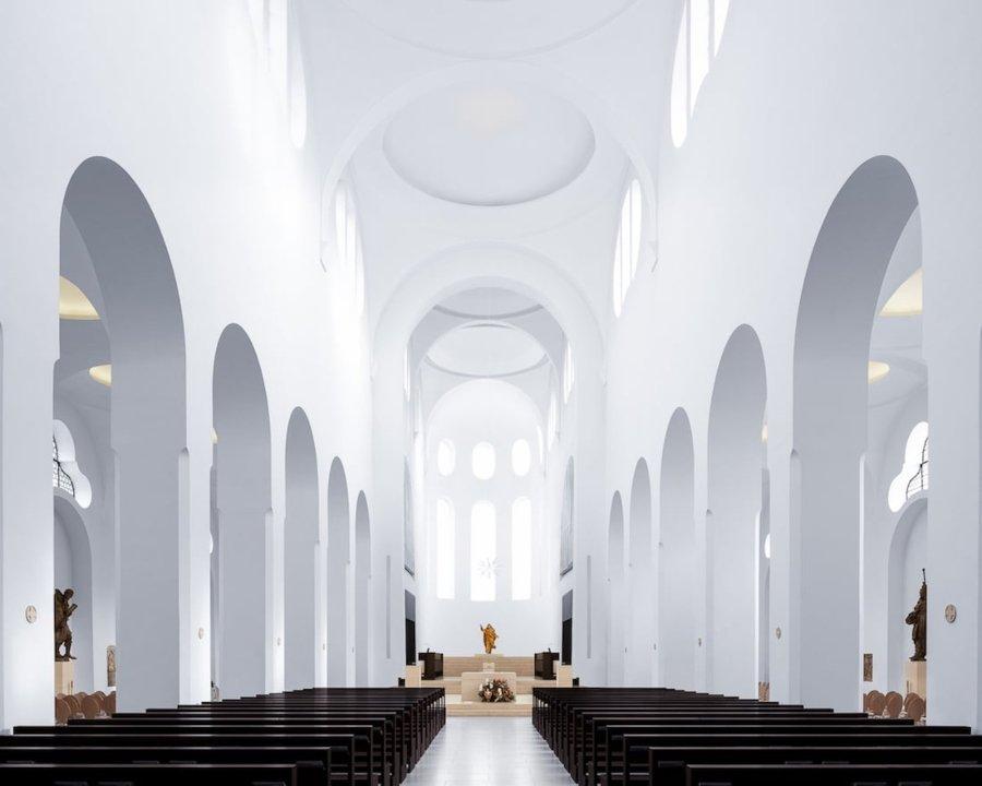 Saint Moritz, Augsburgo, Alemania (John Pawson, 2013) por Thibaud Poirier