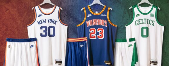 Nike celebra la nueva temporada de la NBA con uniformes retro