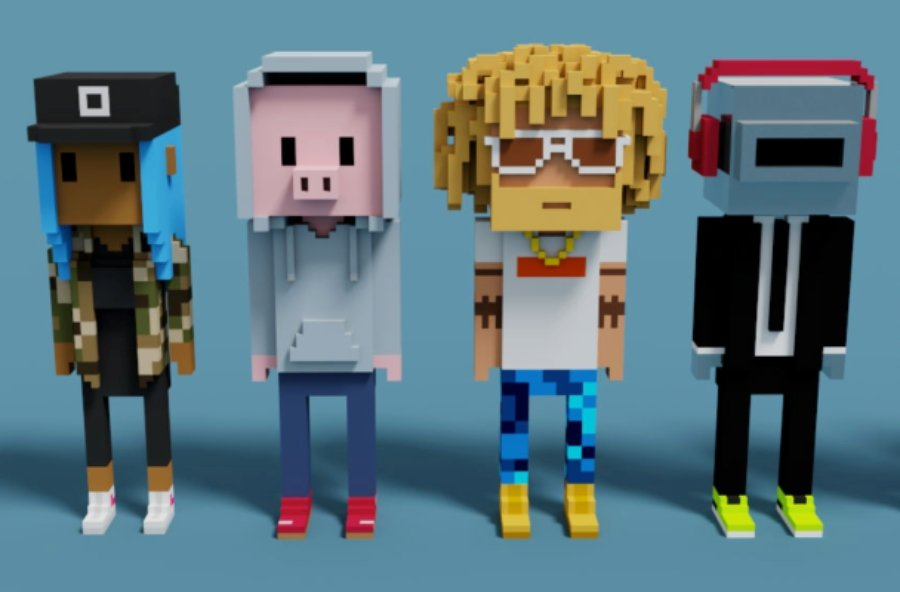 Personajes del proyecto CryptoPunks