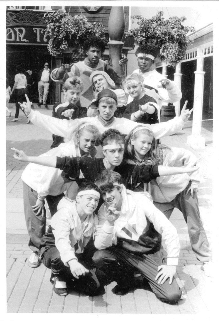 Street Machine Crew with Shannon 1985 en el Archivo del Hip