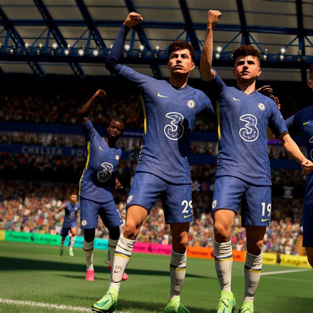 Escena de FIFA 22
