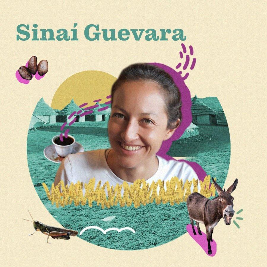 Sinaí Guevara invitada del podcast