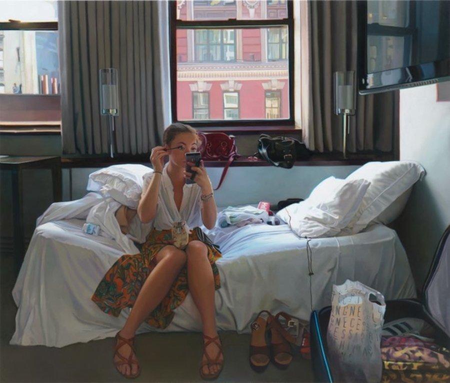 Pintura Hiperrealista de Kate Waters