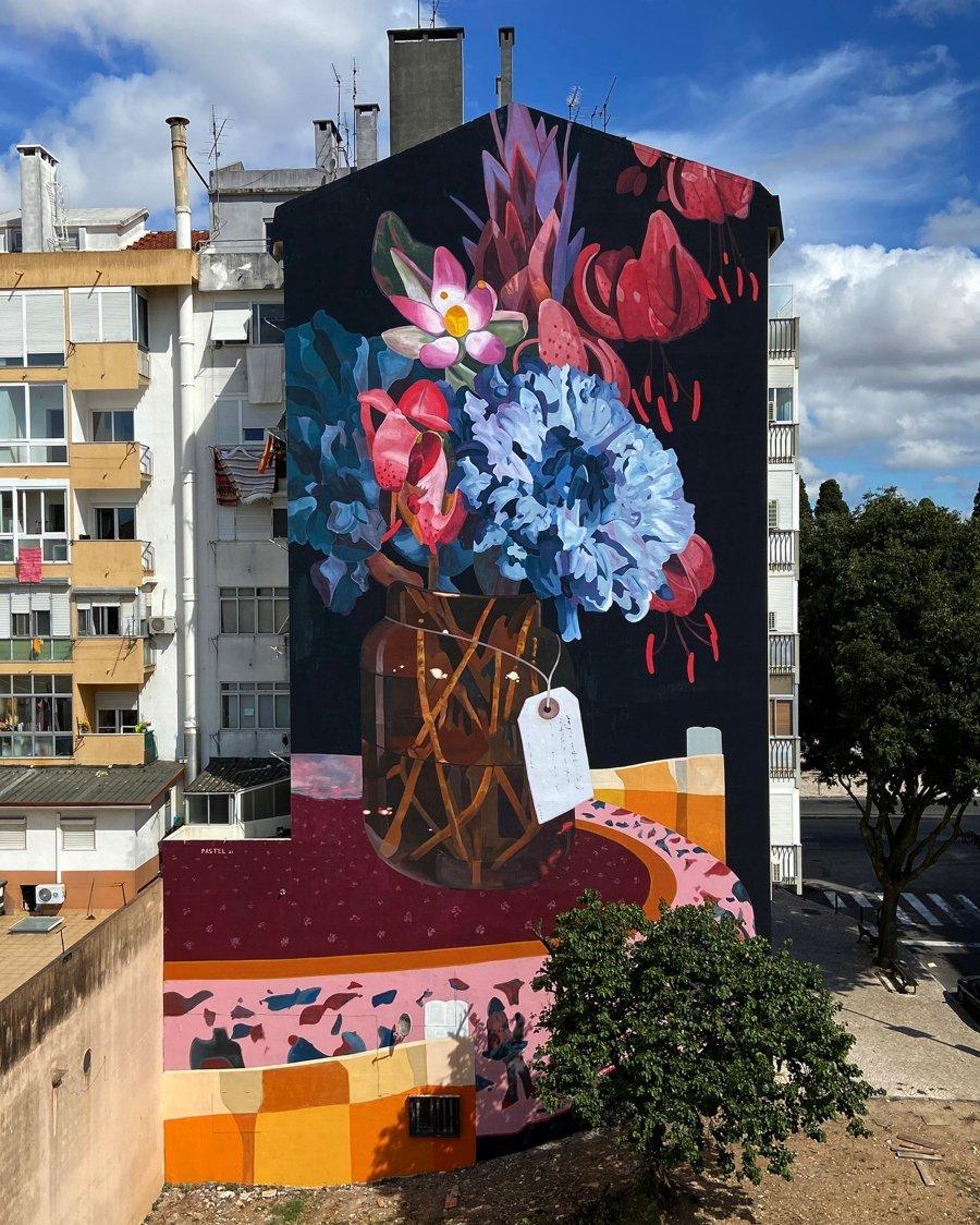 """Los murales del mes de septiembre: """"Lḗthē"""""""