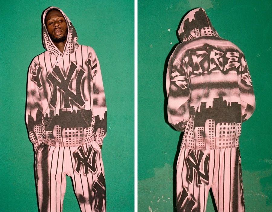La colección fusiona streetwear con moda deportiva