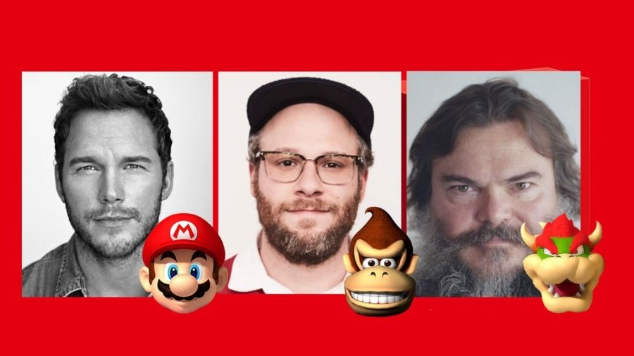 Cast de Mario Bros 2022