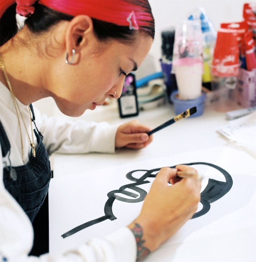Pintura de Angelica Liv